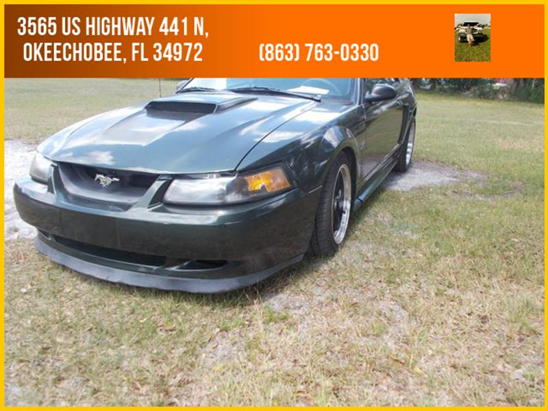 2001 Ford Mustang for sale at M & M AUTO BROKERS INC in Okeechobee FL