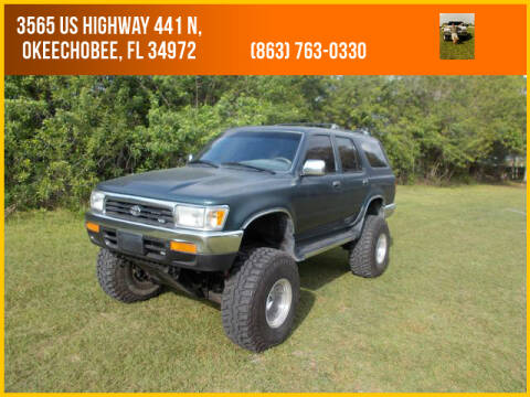 Get Toyota 4Runner 1995 Lifted