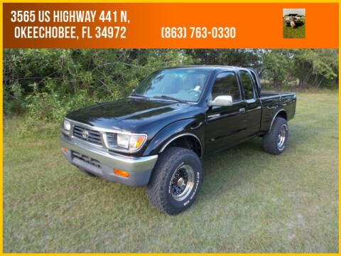 1996 Toyota Tacoma SR5 for sale at M & M AUTO BROKERS INC in Okeechobee FL