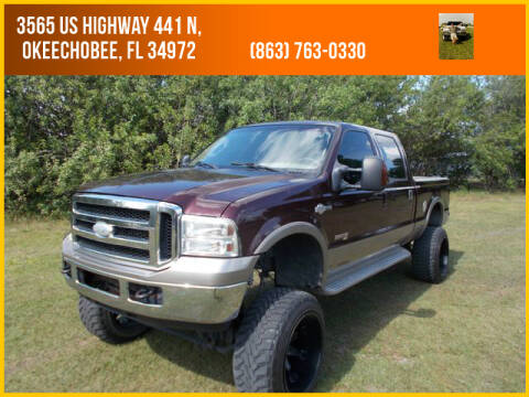 2004 Ford F-250 Super Duty for sale at M & M AUTO BROKERS INC in Okeechobee FL