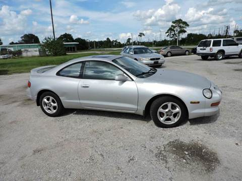 1995 Toyota Celica for sale at M & M AUTO BROKERS INC in Okeechobee FL