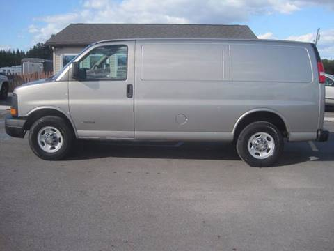 2003 Chevrolet Express Cargo for sale in Auburn, IN
