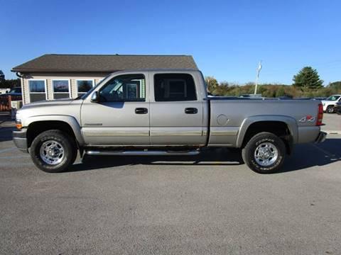 Lovely 2002 Chevrolet Silverado 2500HD For Sale In Auburn, IN
