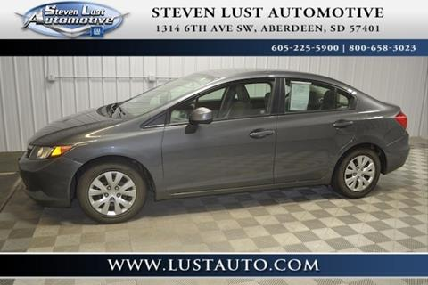 2012 Honda Civic for sale in Aberdeen, SD