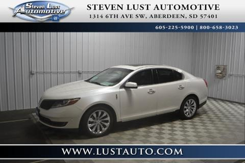 2013 Lincoln MKS for sale in Aberdeen, SD