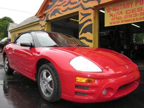 2003 Mitsubishi Eclipse Spyder for sale in Pen Argyl, PA