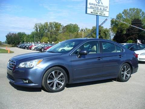 2015 Subaru Legacy for sale in Hortonville, WI