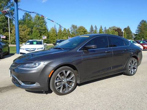 2015 Chrysler 200 for sale in Hortonville, WI