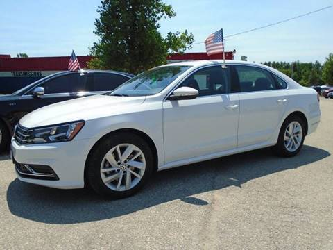 2018 Volkswagen Passat for sale in Hortonville, WI