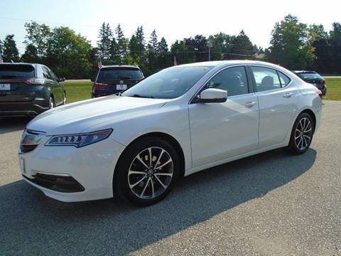 2015 Acura TLX for sale in Hortonville, WI