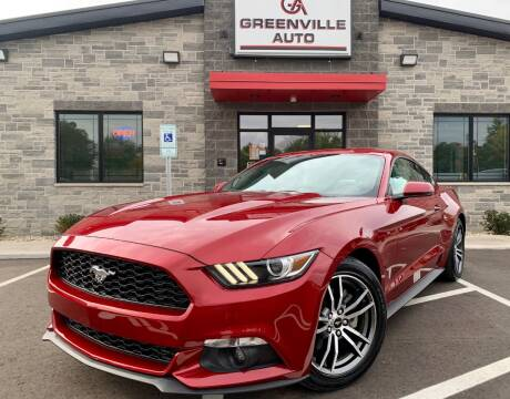2017 Ford Mustang for sale at GREENVILLE AUTO & RV in Greenville WI