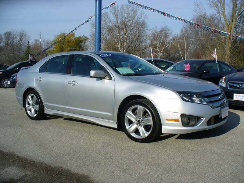2011 ford fusion sport 4dr sedan in hortonville wi greenville auto. Cars Review. Best American Auto & Cars Review