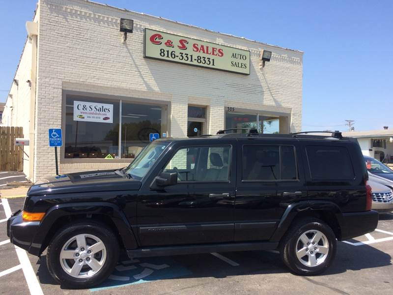 2006 jeep commander 4dr suv 4wd in belton mo c s sales rh candsdeals com 2006 jeep commander limited user manual free 2006 jeep commander owners manual