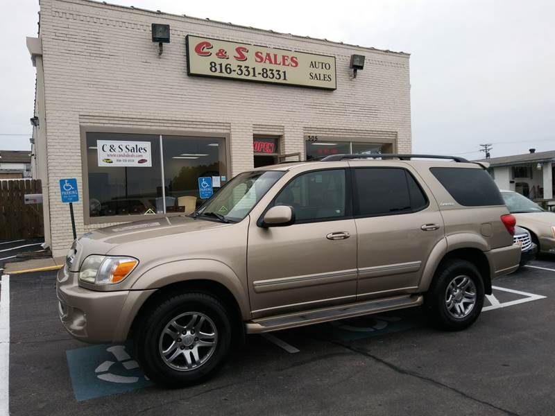 2005 Toyota Sequoia Limited 4WD 4dr SUV   Belton MO