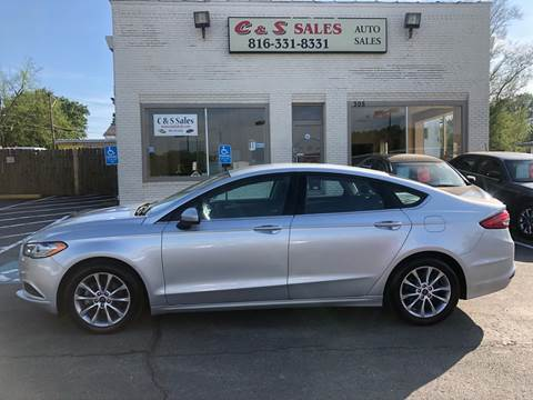 2017 Ford Fusion for sale in Belton, MO