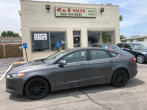 2016 Ford Fusion for sale in Belton, MO