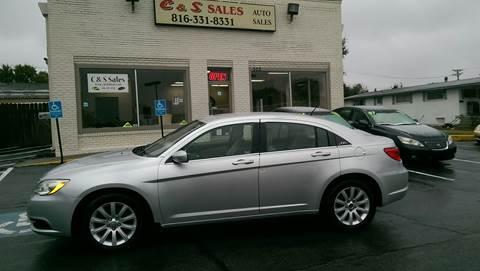2012 Chrysler 200 for sale in Belton, MO