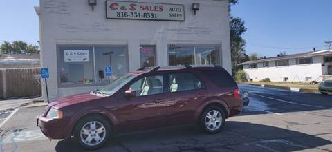 2007 Ford Freestyle for sale at C & S SALES in Belton MO