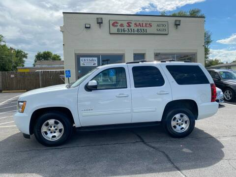 2012 Chevrolet Tahoe for sale at C & S SALES in Belton MO