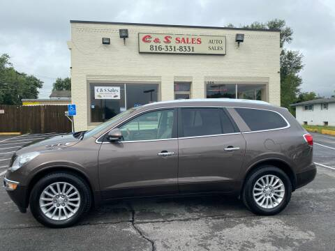 2012 Buick Enclave for sale at C & S SALES in Belton MO