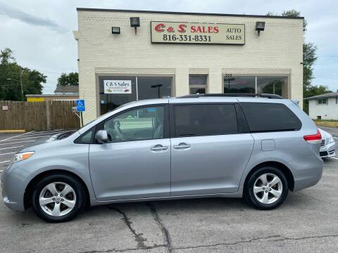 2014 Toyota Sienna for sale at C & S SALES in Belton MO