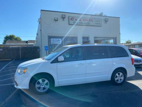 2012 Dodge Grand Caravan for sale at C & S SALES in Belton MO
