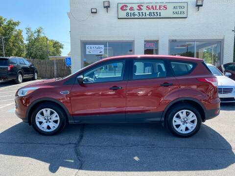 2015 Ford Escape for sale at C & S SALES in Belton MO