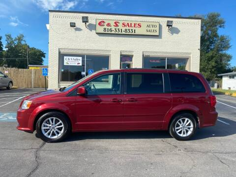 2014 Dodge Grand Caravan for sale at C & S SALES in Belton MO