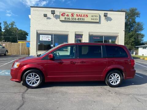 2014 Dodge Grand Caravan for sale at C & S SALES in Belton MO
