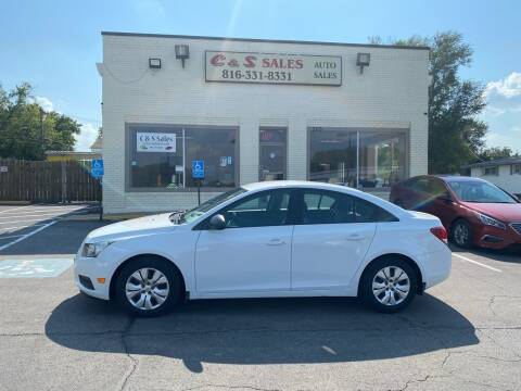2013 Chevrolet Cruze for sale at C & S SALES in Belton MO