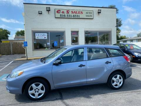 2004 Toyota Matrix for sale at C & S SALES in Belton MO