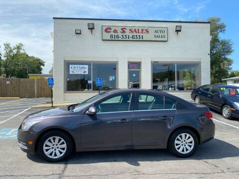 2011 Chevrolet Cruze for sale at C & S SALES in Belton MO