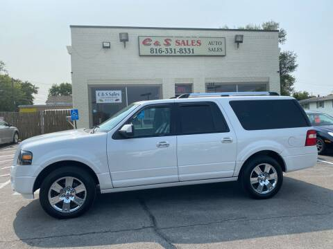 2010 Ford Expedition EL for sale at C & S SALES in Belton MO