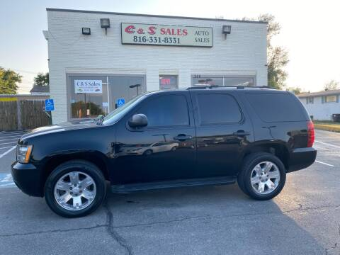 2011 Chevrolet Tahoe for sale at C & S SALES in Belton MO