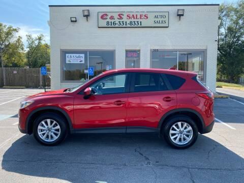 2014 Mazda CX-5 for sale at C & S SALES in Belton MO