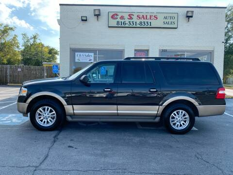 2013 Ford Expedition EL for sale at C & S SALES in Belton MO