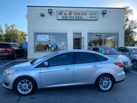2016 Ford Focus for sale at C & S SALES in Belton MO