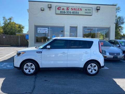 2015 Kia Soul for sale at C & S SALES in Belton MO