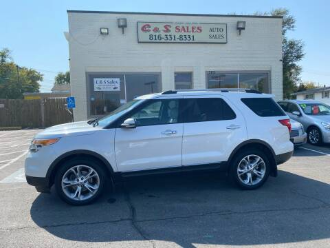 2013 Ford Explorer for sale at C & S SALES in Belton MO