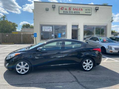 2013 Hyundai Elantra for sale at C & S SALES in Belton MO