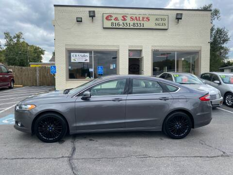2014 Ford Fusion for sale at C & S SALES in Belton MO
