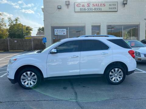 2010 Chevrolet Equinox for sale at C & S SALES in Belton MO