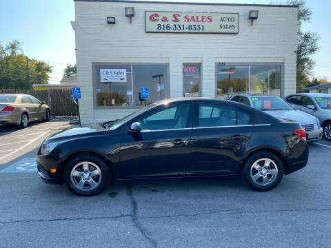 2014 Chevrolet Cruze for sale at C & S SALES in Belton MO