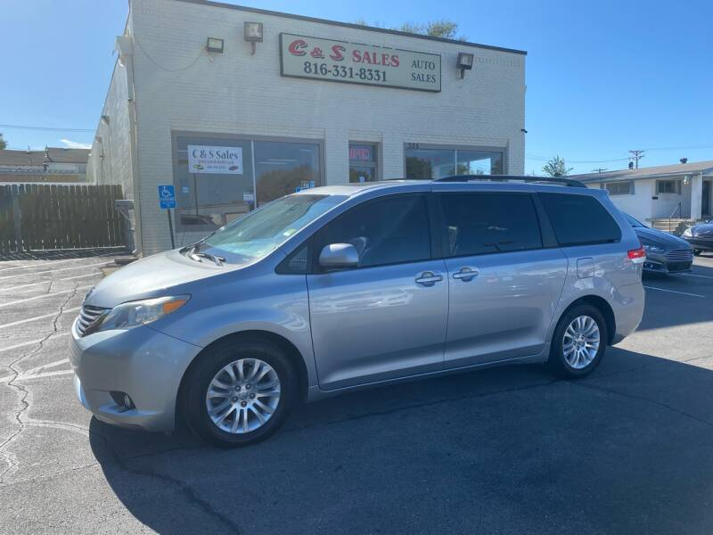 2011 Toyota Sienna for sale at C & S SALES in Belton MO