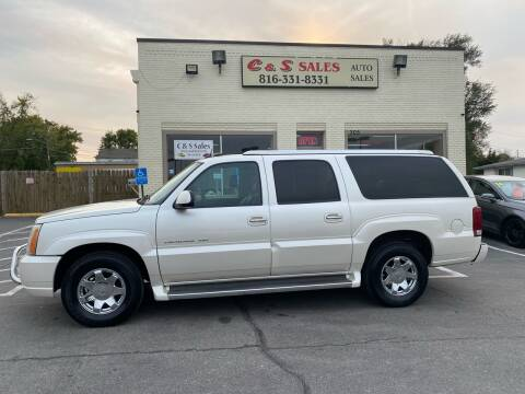 2005 Cadillac Escalade ESV for sale at C & S SALES in Belton MO