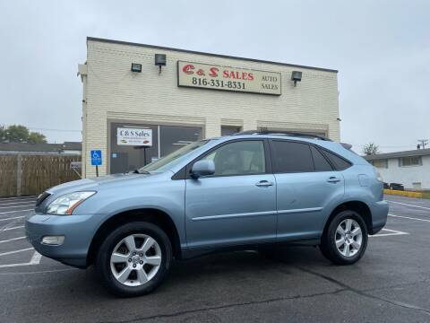 2005 Lexus RX 330 for sale at C & S SALES in Belton MO