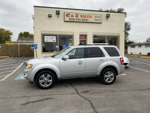 2009 Ford Escape for sale at C & S SALES in Belton MO