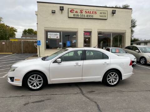2010 Ford Fusion for sale at C & S SALES in Belton MO