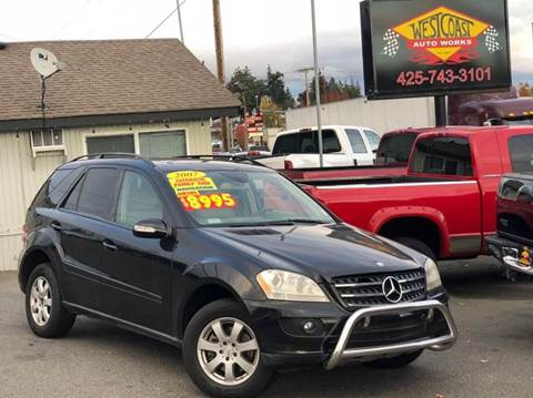 2007 Mercedes-Benz M-Class for sale at West Coast Auto Works in Edmonds WA