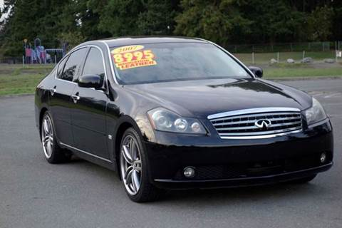 2007 Infiniti M45 for sale at West Coast Auto Works in Edmonds WA